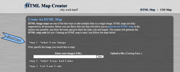イメージマップ作成ツール「HTML Map Creator」